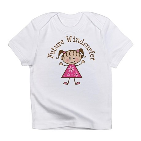 Future Windsurfer Girl Infant T-Shirt