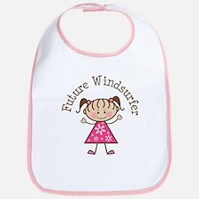 Future Windsurfer Girl Bib