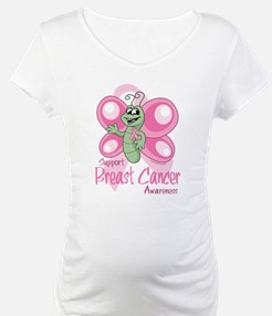 Breast Cancer Cute Butterfly Shirt