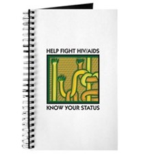 Help Fight HIV/AIDS, Know Your Status Journal