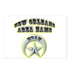 New Orleans Area Hams Postcards (Package of 8)