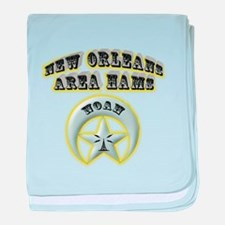 New Orleans Area Hams baby blanket