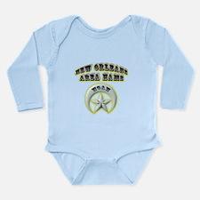 New Orleans Area Hams Long Sleeve Infant Bodysuit