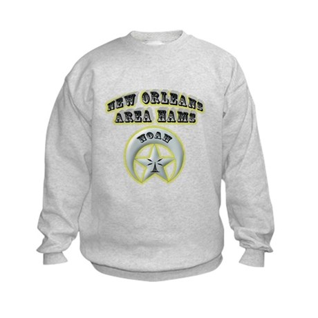New Orleans Area Hams Kids Sweatshirt