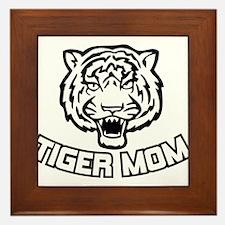 Tiger Mom Framed Tile
