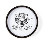 Tiger Mom Wall Clock