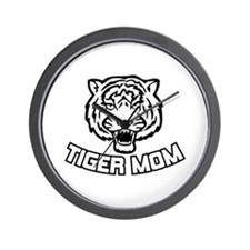 Tiger Mom Wall Clock
