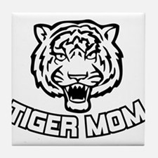 Tiger Mom Tile Coaster