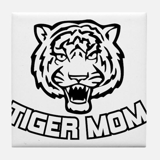 Tiger Mom Tile Coaster