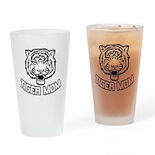 Tiger Mom Drinking Glass