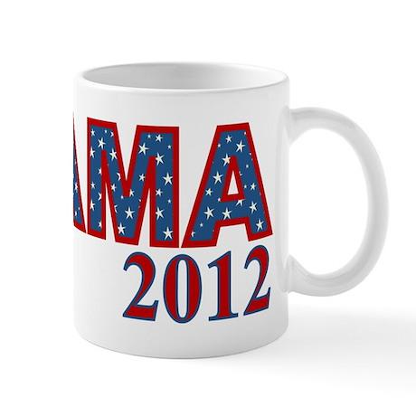 Starry OBAMA 2012 Mug