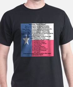 SURVIVOR TEXAS STYLE T-Shirt