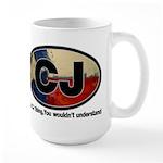 CJ THING Large Mug