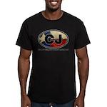 CJ THING Men's Fitted T-Shirt (dark)