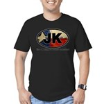 JK THING Men's Fitted T-Shirt (dark)