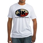 JK THING Fitted T-Shirt