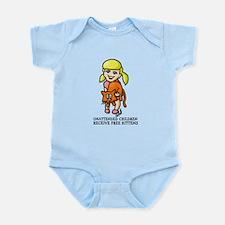 Free Kittens Infant Bodysuit