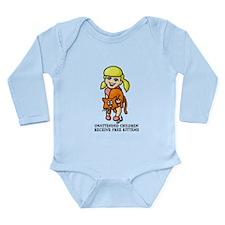Free Kittens Long Sleeve Infant Bodysuit