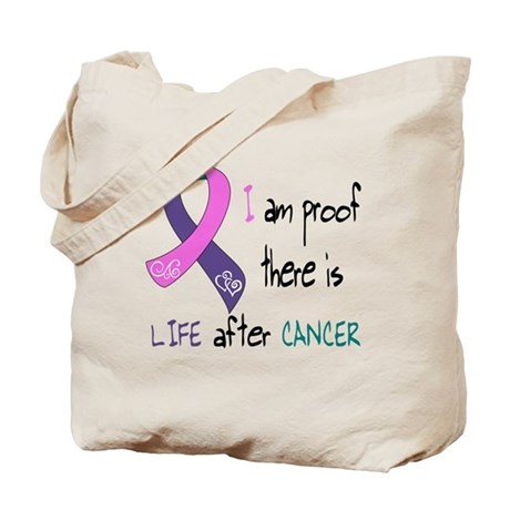 Life After Thyroid CA, I Tote Bag