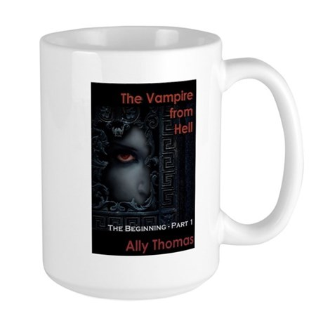 The Vampire from Hell (Part 1) Large Coffee Mug