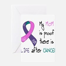Life After Thyroid CA, Mom Greeting Card