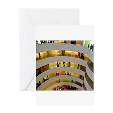 Guggenheim Museum: New York C Greeting Card