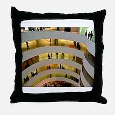 Guggenheim Museum: New York C Throw Pillow