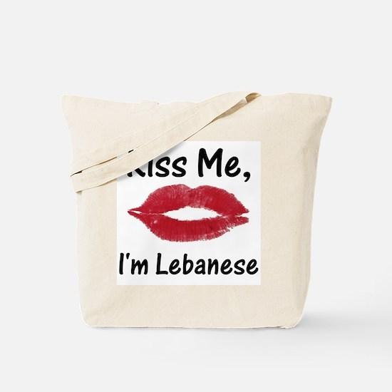 Kiss me, I'm Lebanese Tote Bag