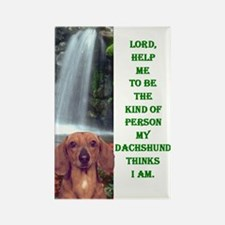 Cute Akc purebred dogs Rectangle Magnet