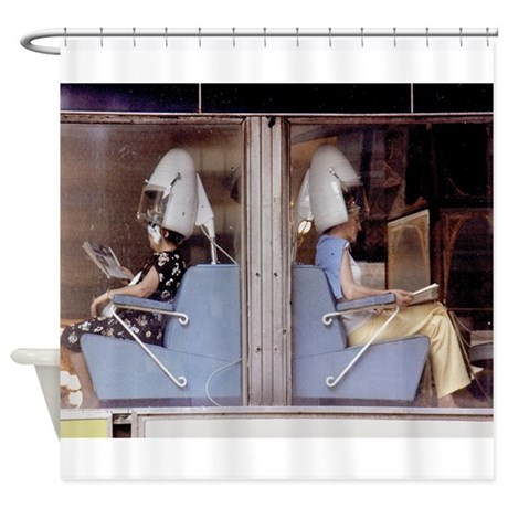 Saturday Morning Astronauts Shower Curtain