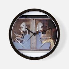 Saturday Morning Astronauts Wall Clock