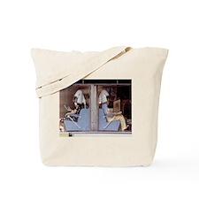 Saturday Morning Astronauts Tote Bag