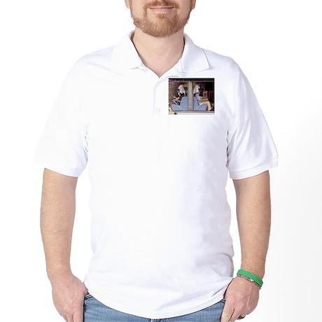 Saturday Morning Astronauts Golf Shirt