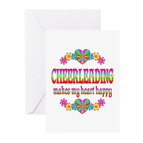 Cheerleading Happy Greeting Cards (Pk of 20)