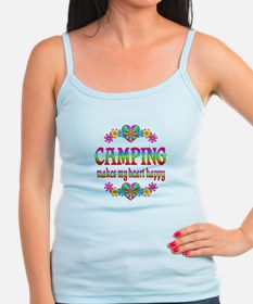 Camping Happy Jr.Spaghetti Strap