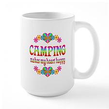 Camping Happy Mug