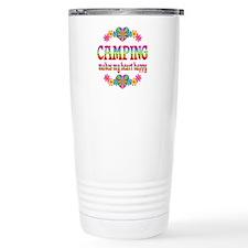 Camping Happy Travel Mug