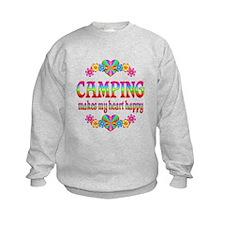 Camping Happy Sweatshirt