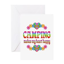 Camping Happy Greeting Card