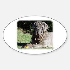 Neapolitan Mastiff AA018D-069 Sticker (Oval)