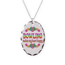 Bowling Happy Necklace