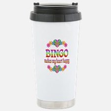 BINGO Happy Travel Mug