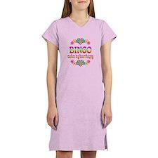 BINGO Happy Women's Nightshirt