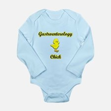Gastroenterology Chick Long Sleeve Infant Bodysuit