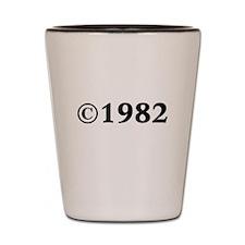 1982 Shot Glass