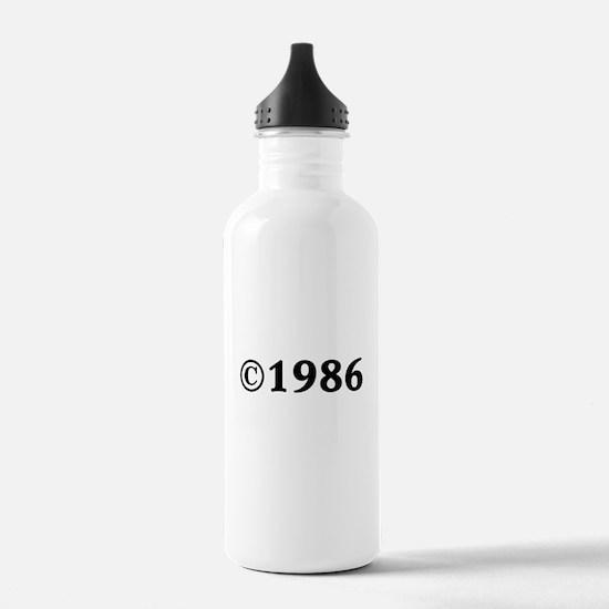 1986 Water Bottle