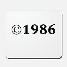1986 Mousepad