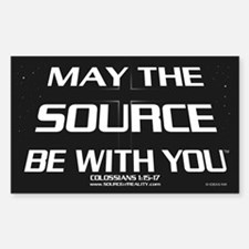 MAY THE SOURCE BE WITH YOU (Sticker)