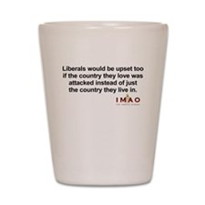 Liberals Upset Shot Glass