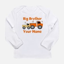 Big Brother Truck Long Sleeve Infant T-Shirt